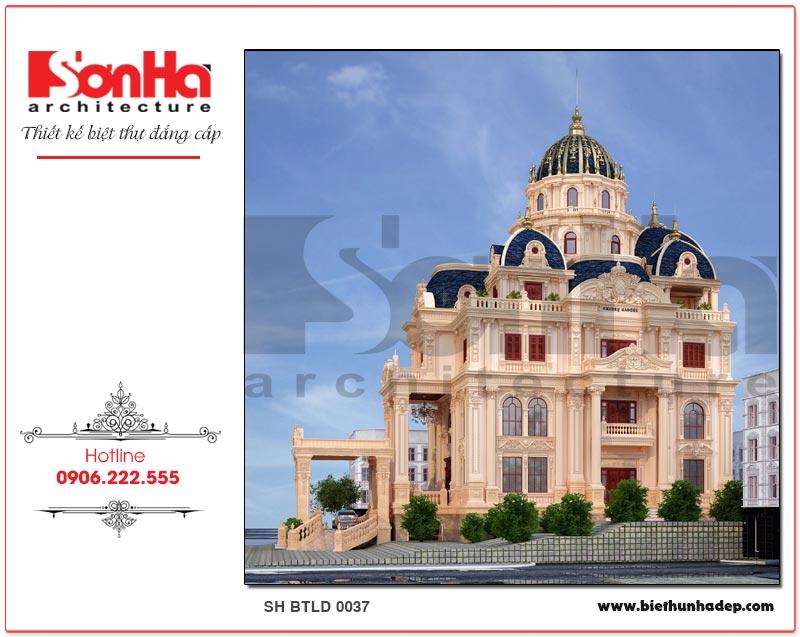 Biệt thự lâu đài phong cách châu Âu kiêu sa, lộng lẫy chinh phục mọi ánh nhìn