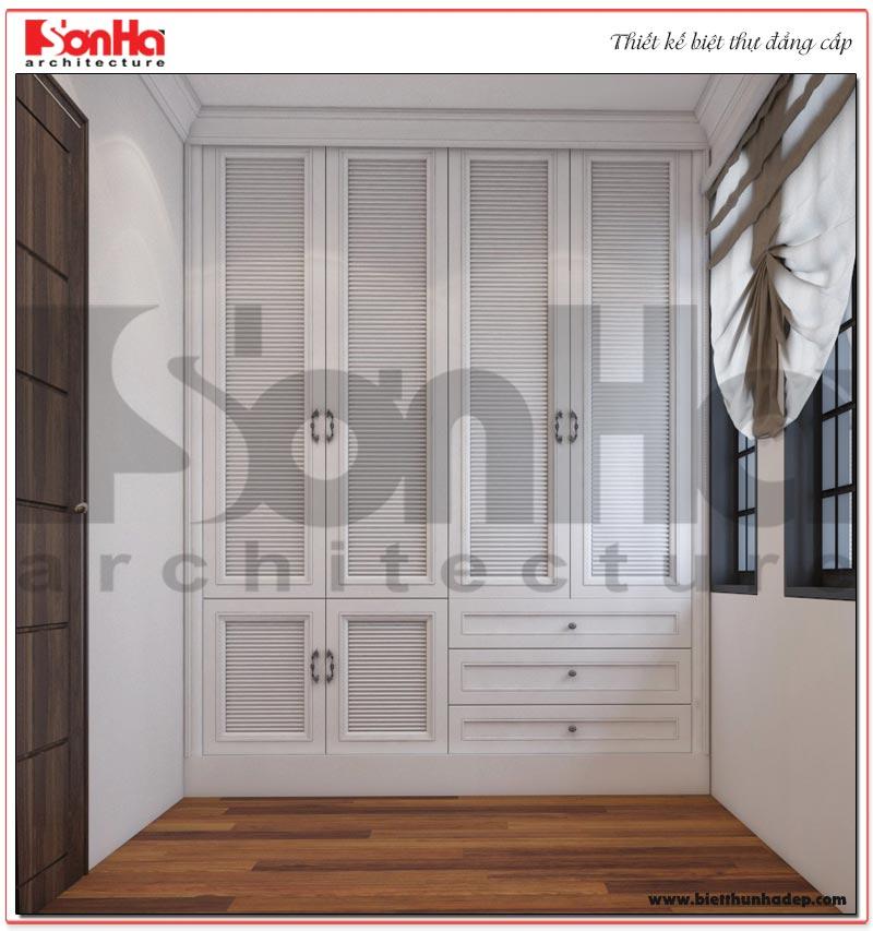 Mẫu nội thất khu thay đồ thiết kế đặc biệt trong căn phòng ngủ