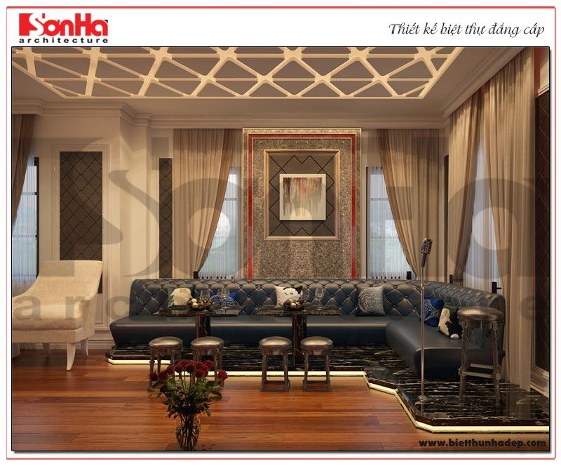 Mẫu thiết kế nội thất phòng hát biệt thự Vinhomes Imperia Hải Phòng