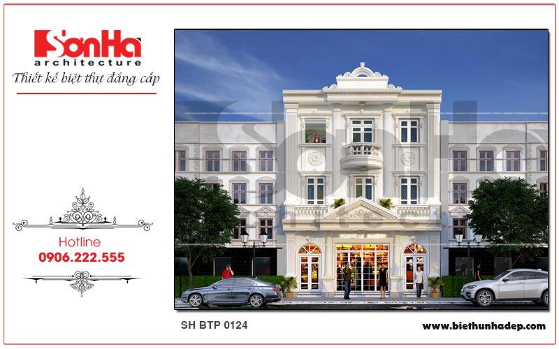 Biệt thự pháp cổ 3 tầng tại Quảng Ninh gây ấn tượng với đường nét kiến trúc nhẹ nhàng, thanh thoát