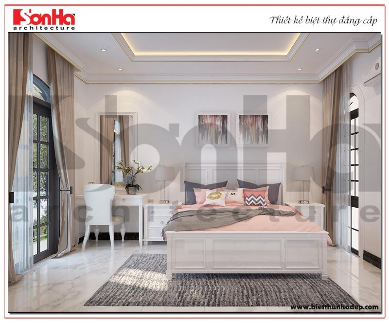 Mẫu nội thất phòng ngủ biệt thự tân cổ điển tuyệt đẹp tại Hải Phòng