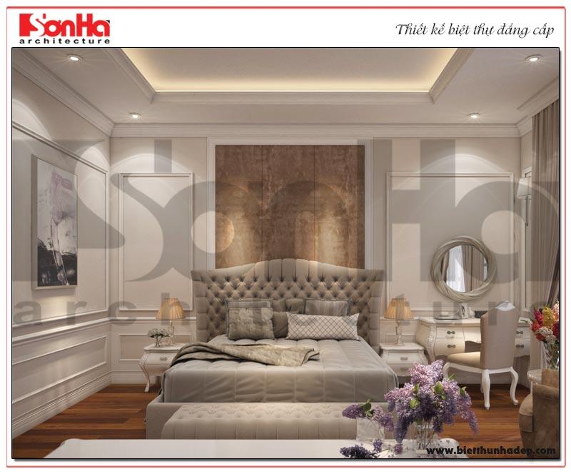 Mẫu phòng ngủ biệt thự đẹp được thiết kế theo đúng sở thích và nguyện vọng của chủ nhân căn phòng