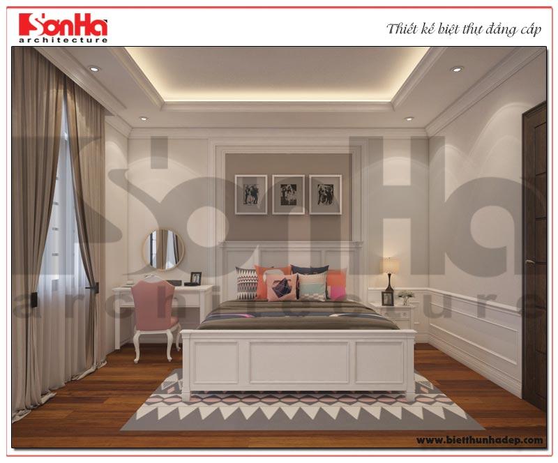 Thiết kế nội thất phòng ngủ trẻ em biệt thự Vinhomes Imperia cao cấp