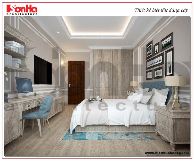 Ý tưởng thiết kế phòng ngủ với nội thất tân cổ điển trẻ trung cùng gam màu mới lạ