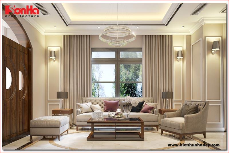 BÌA Thiết kế nội thất biệt thự song lập khu đô thị vinhomes hải phòng