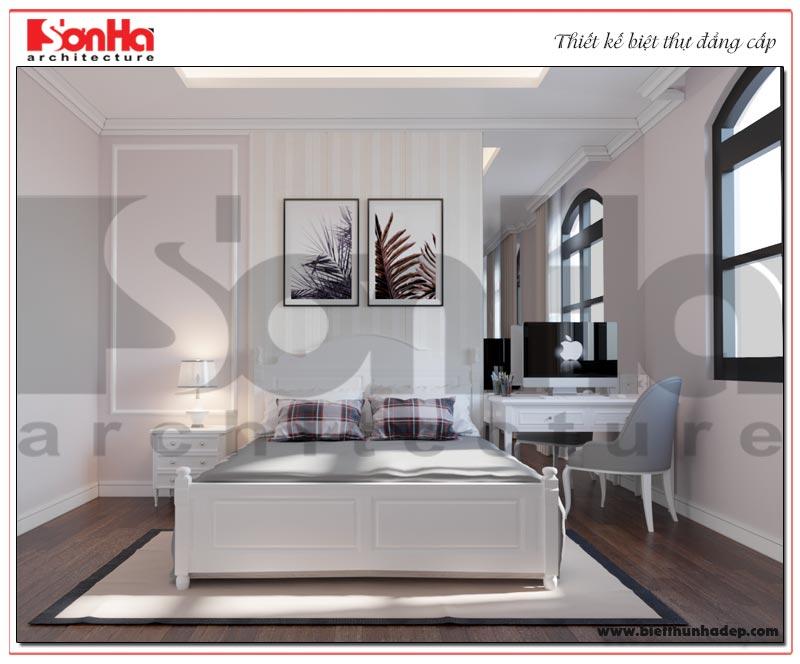 Mẫu thiết kế nội thất phòng ngủ Paris Vinhomes Imperia Hải Phòng dành cho bé trai cá tính và đầy đủ tiện nghi