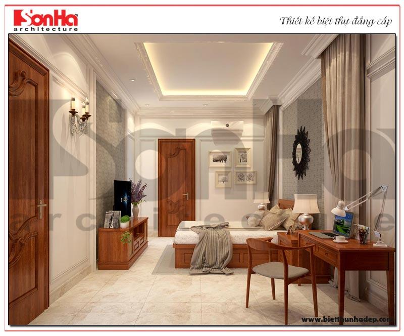 Cách bó trí nội thất phòng ngủ phong cách tân cổ điển đẹp mắt và sang trọng