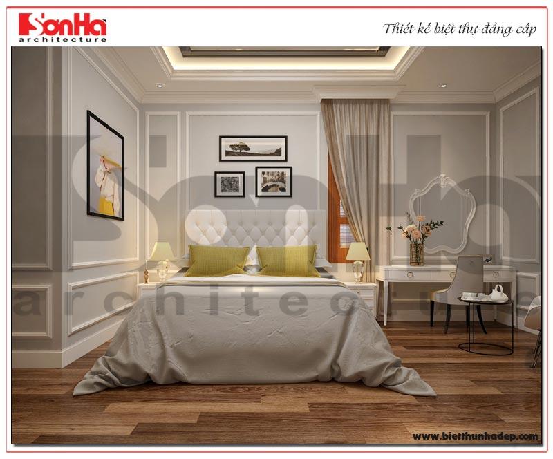 Mẫu thiết kế nội thất phòng ngủ đẹp phong cách thanh nhã và nhẹ nhàng được yêu thích