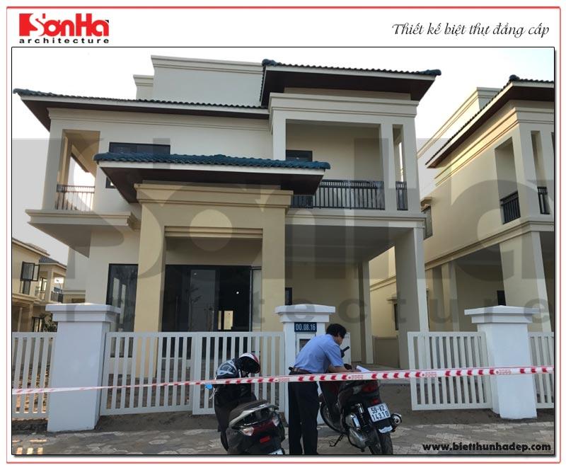 Thiết kế nội thất biệt thự tân cổ điển tại KĐT Senturia Vườn lài An Phú Đông – Sài Gòn