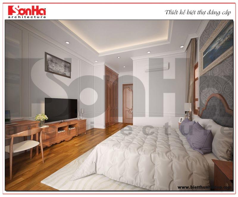 Nội thất phòng ngủ biệt thự có cách thiết kế, trang trí dựa trên sở thích của chủ nhân căn phòng
