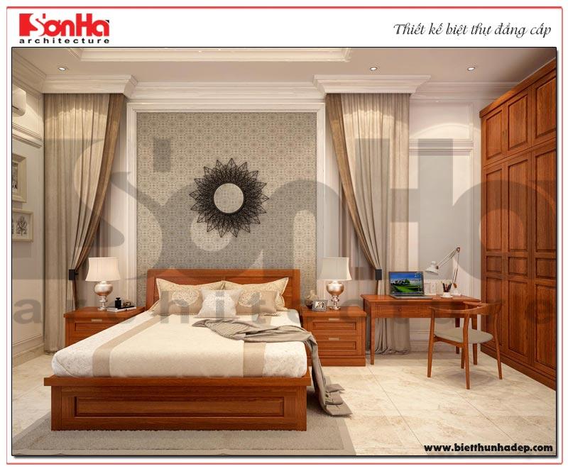 Mẫu thiết kế nội thất phòng ngủ phong cách tân cổ điển đẹp từng tiểu tiết