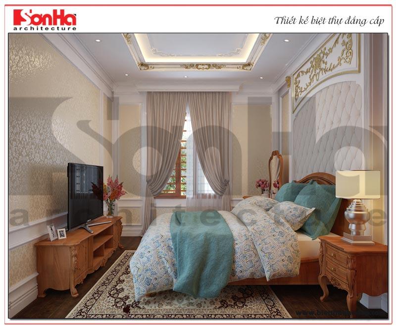 Mẫu phòng ngủ đẹp mang phong cách tân cổ điển tinh tế và nhẹ nhàng
