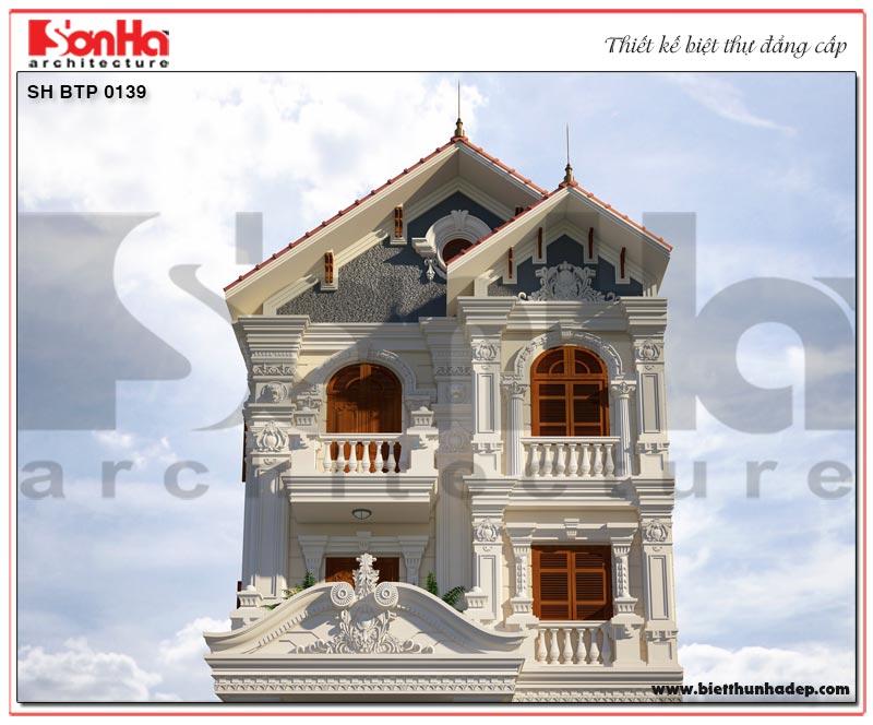 Chiêm ngưỡng cận cảnh kiến trúc ngôi biệt thự nhà vườn phong cách tân cổ điển thiết kế tinh tế đến từng tiểu tiết