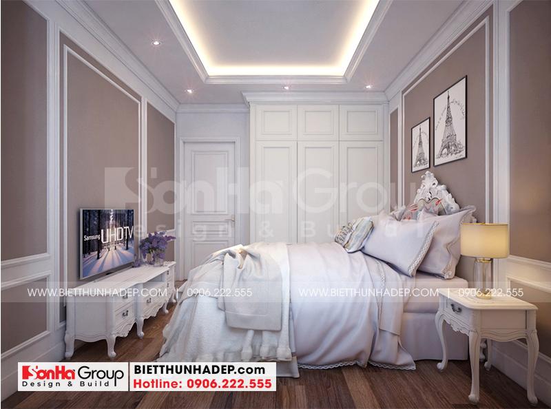 Thêm một ý tưởng trang trí phòng ngủ giúp việc với nội thất tân cổ điển đẹp