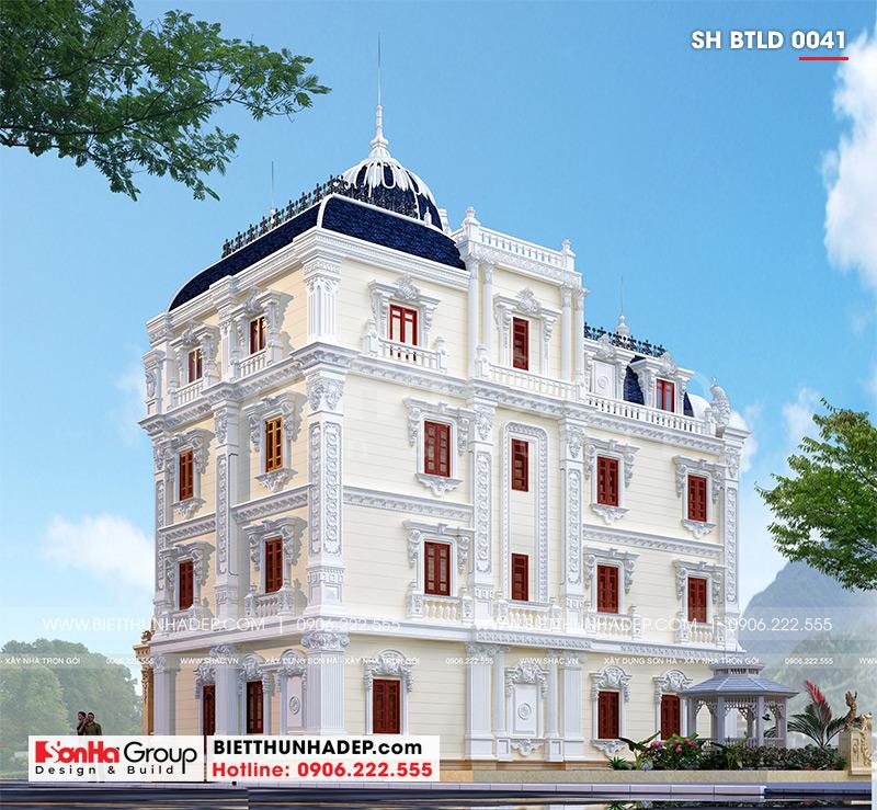 Mọi chi tiết kiến trúc tòa biệt thự đều được các kiến trúc sư Sơn Hà lên phương án bố trí khoa học