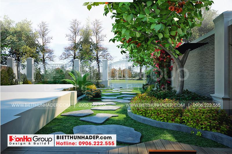 Tiểu cảnh sân vườn thiết kế đẹp mang đến không gian thư giãn cho cả gia đình