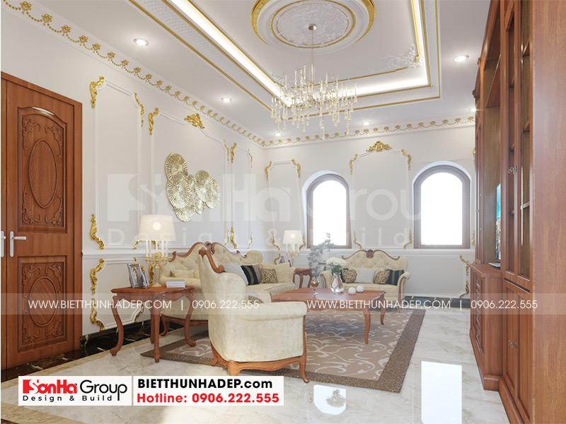 Mẫu thiết kế nội thất phòng tổng hợp phong cách tân cổ điển sang trọng