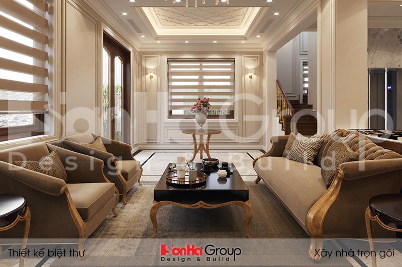 BÌA cải tạo nội thất biệt thự tân cổ điển đẹp tại quảng ninh
