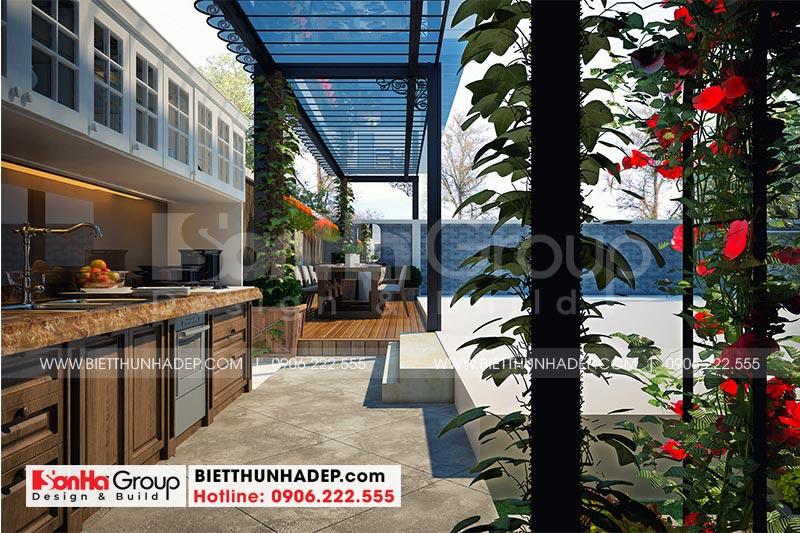 Thiết kế tiểu cảnh sân vườn nhỏ xinh mang đến không gian thư giãn cho cả gia đình