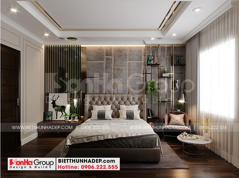 Trang trí phòng ngủ đẹp với nội thất cao cấp dành riêng cho vợ chồng gia chủ