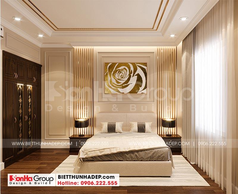 Thêm một ý tưởng trang trí phòng ngủ đẹp với nội thất đơn giản đậm chất tân cổ điển
