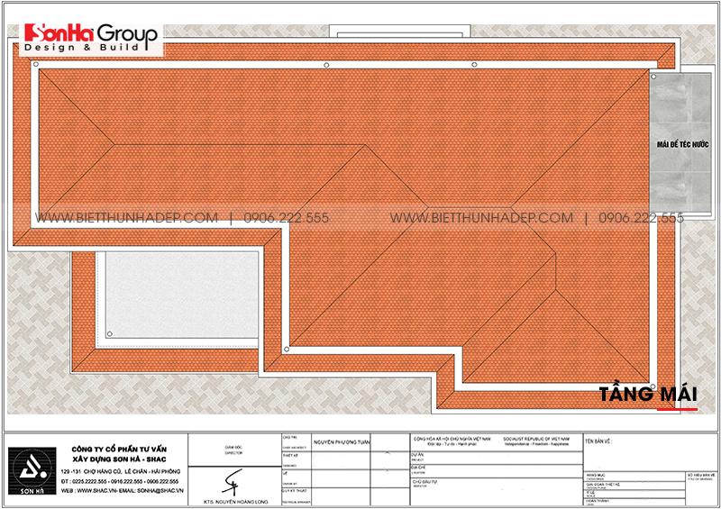 Trên đây là hồ sơ thiết kế biệt thự hiện đại 2 mặt tiền chúng tôi đã bàn giao cho chủ đầu tư tại Hải Phòng trong sự tán dương của các khách hàng và đồng nghiệp. Chúc bạn có được những ý tưởng độc đáo từ phương án thiết kế biệt thự 2 tầng hiện đại chúng tôi vừa chia sẻ ở trên. Cảm ơn bạn đã theo dõi bài viết.