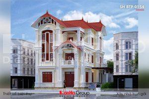 BÌA biệt thự tân cổ điển 3 tầng 2 mặt tiền tại quảng ninh sh btp 0154