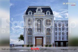 BÌA biệt thự tân cổ điển 3 tầng 2 mặt tiền tại hà nội sh btp 0156