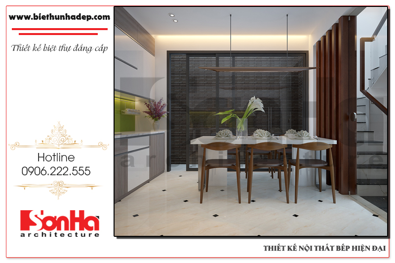 Thiết kế nội thất phòng bếp hiện đại phong cách mới cho năm 2017