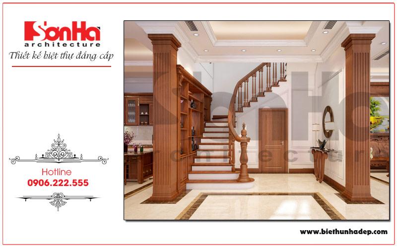 Mẫu thiết kế nội thất sảnh thanh được chủ đầu tư vô cùng yêu thích