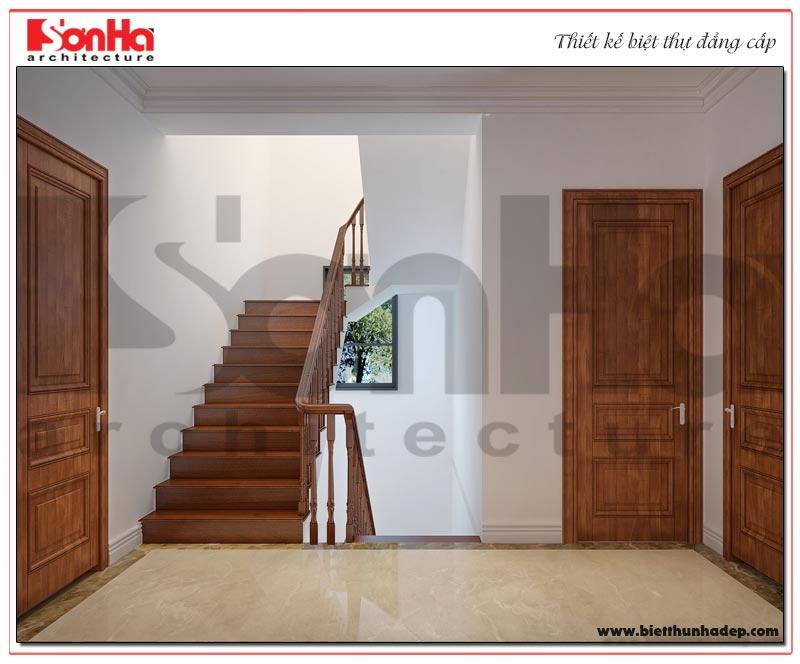 12 Mẫu nội thất sảnh thang biệt thự tân cổ điển khu đô thị vinhomes hải phòng