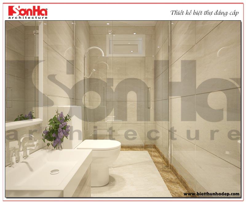 13 Thiết kế nội thất phòng tắm wc biệt thự tân cổ điển khu đô thị vinhomes hải phòng