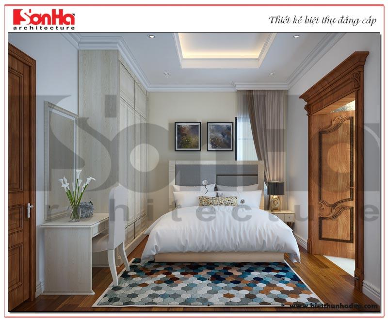 Ý tưởng thiết kế nội thất phòng ngủ biệt thự Vinhomes đẹp mắt, ấn tượng