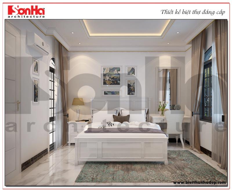 Một một ý tưởng thiết kế nội thất phòng ngủ tiện nghi dàng cho biệt thự tân cổ điển