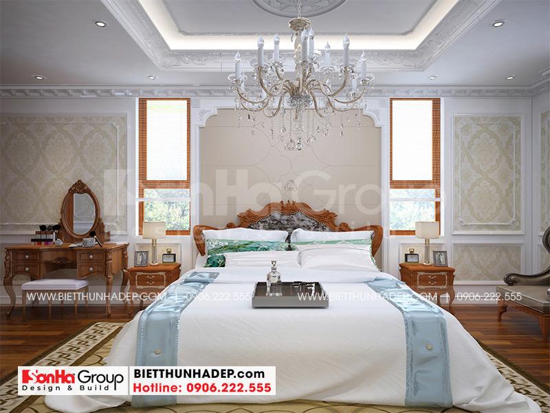 Đây cũng là mẫu phòng ngủ đẹp rất được gia đình chủ đầu tư Quát yêu thích