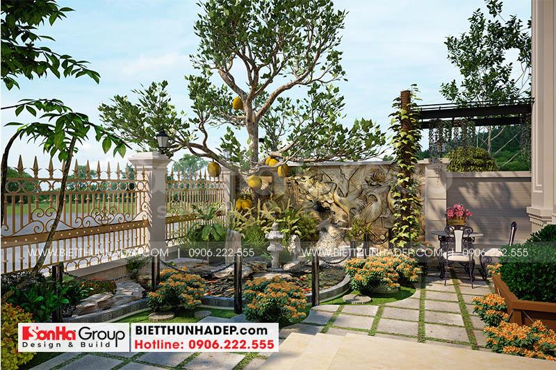 17 Trang trí sân vườn đẹp tại hà nội sh btp 0151