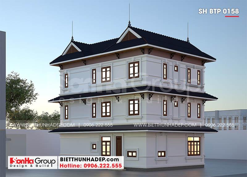 Kiến trúc biệt thự hiện đại với 3 tầng tại Hải PHòng